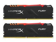 金士顿骇客神条FURY 16GB(2×8GB) DDR4 2666 RGB(HX426C16FB3AK2/16)
